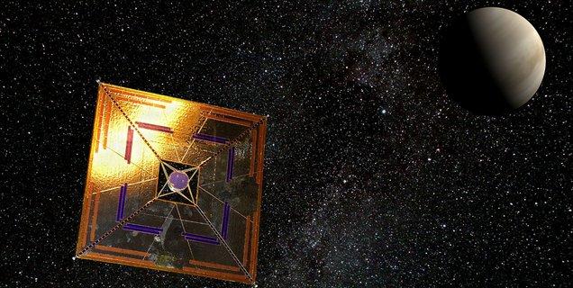 La voile solaire : une histoire de science et de fiction