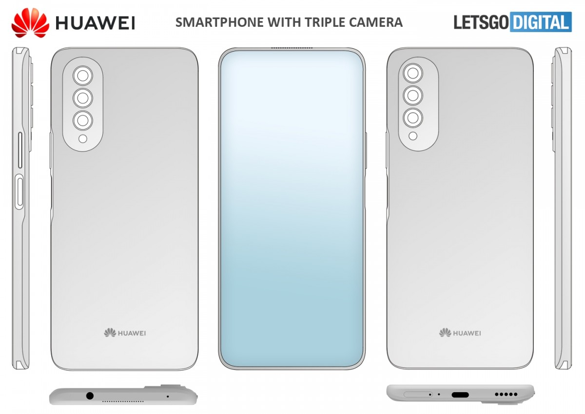 Huawei caméra sous écran © LetsGoDigital