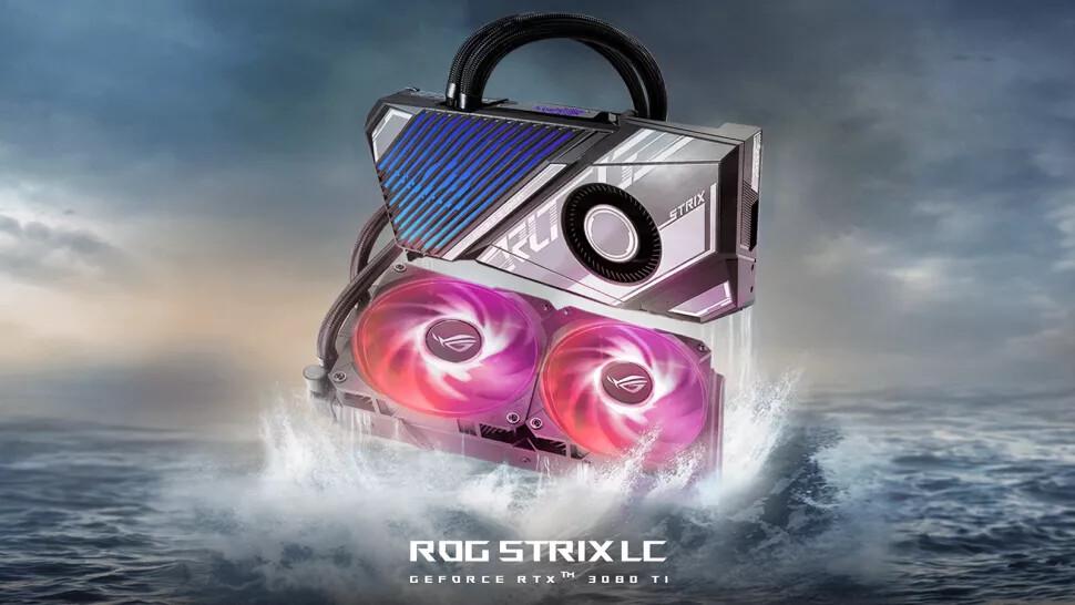 Asus GeForce RTX 3080 Ti ROG Strix LC © Asus