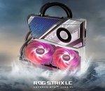 ASUS dévoile une belle RTX 3080 Ti ROG Strix LC à refroidissement hybride