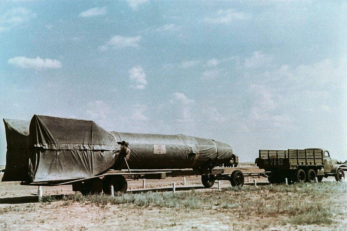 R-1 missile russe fusée © URSS/mil.ru