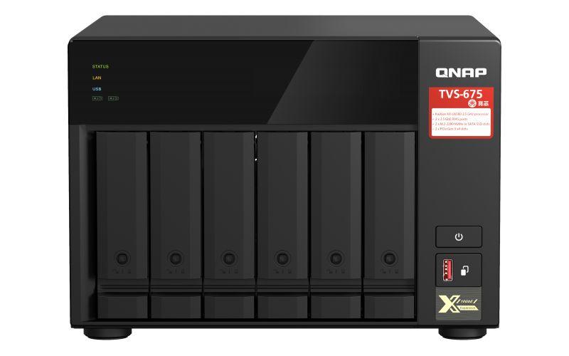 QNAP TVS-675 © QNAP