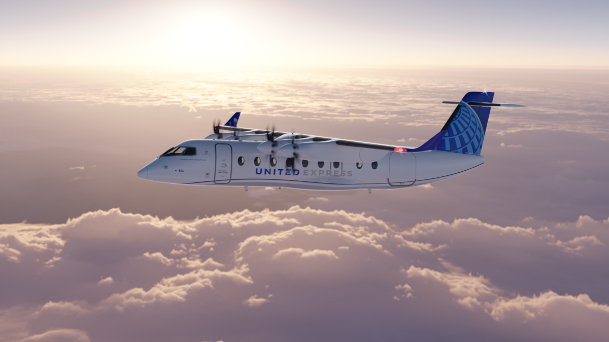 ES-19 United Airlines © Heart Aerospace