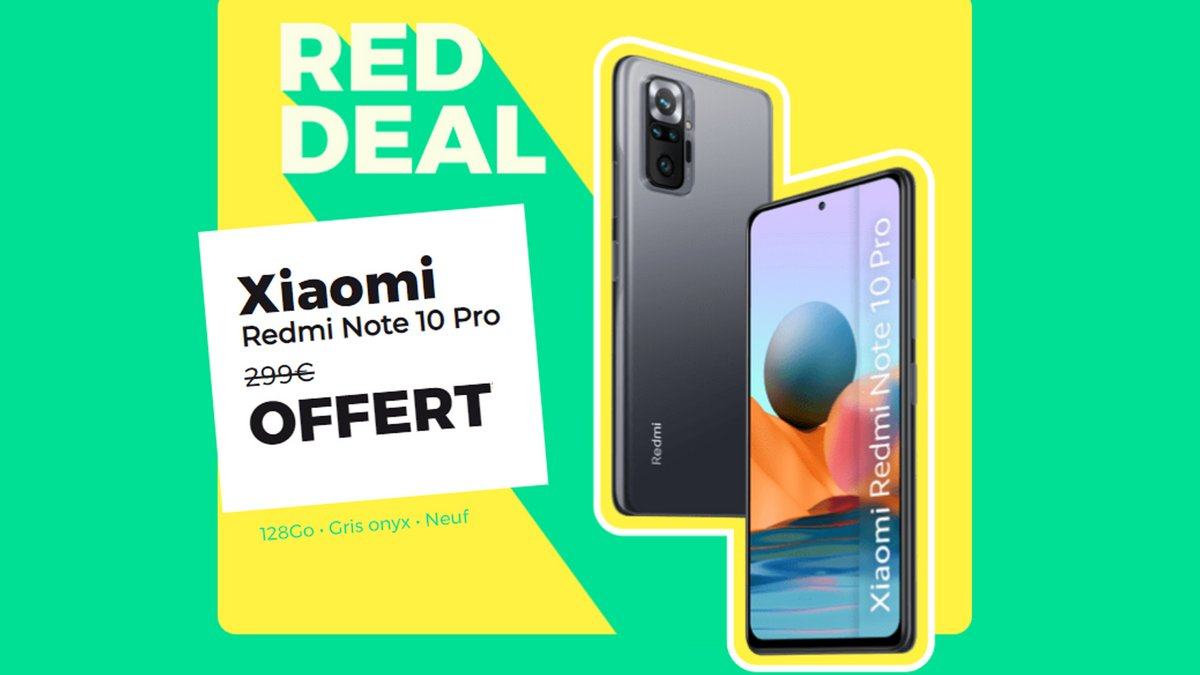 red deal redmi note 10 pro