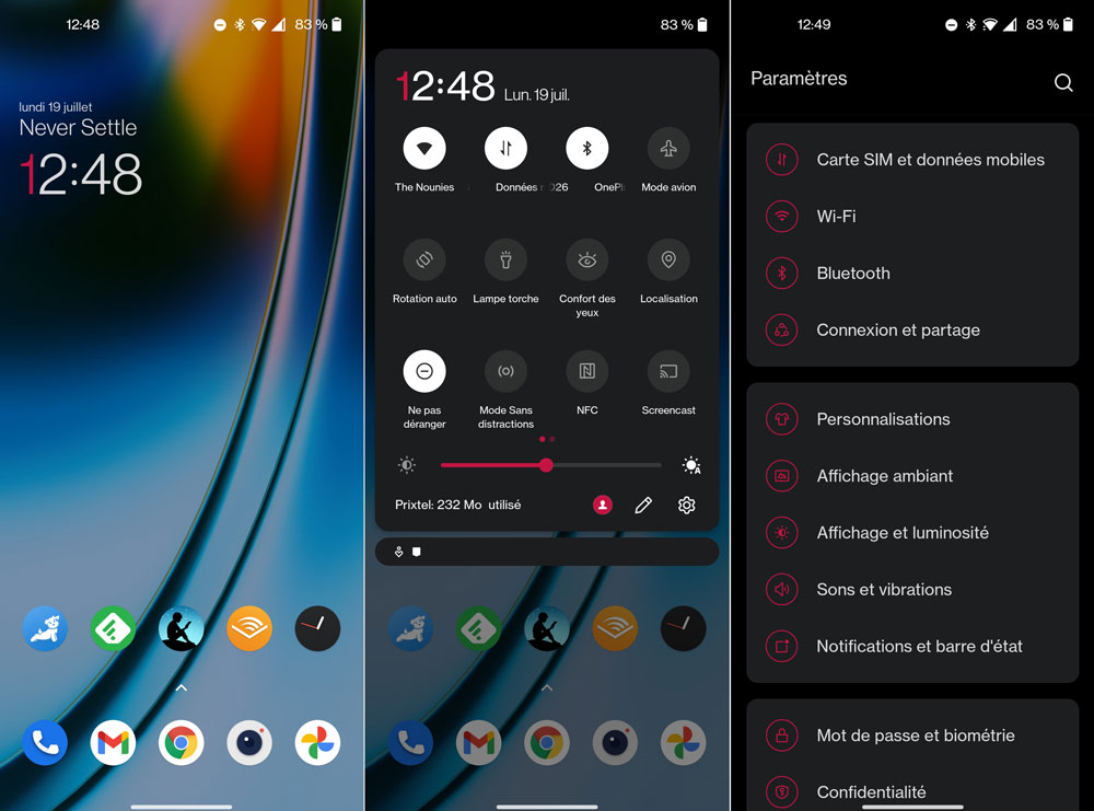 interface oneplus nord 2