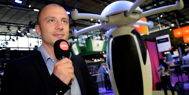 Voici CAPS, la capsule volante française autonome, passe-partout et monoplace (Vidéo)