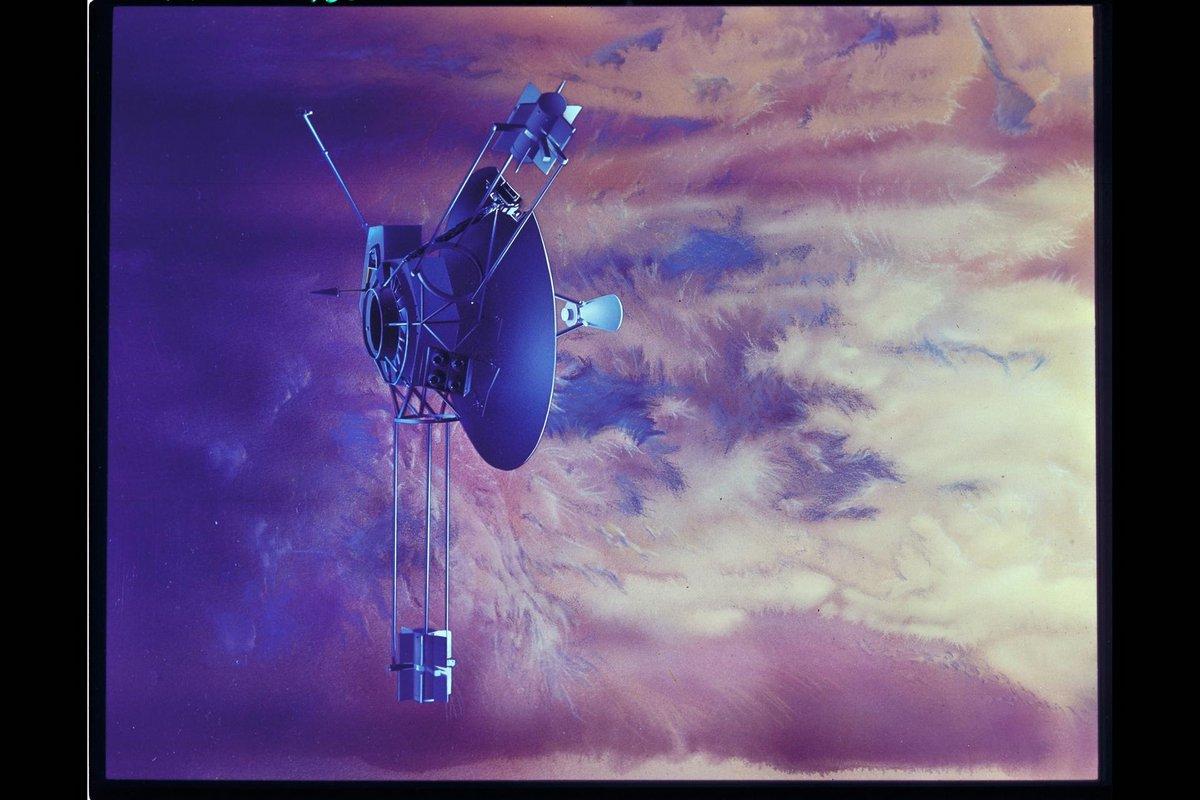 Pioneer 10 vue d'artiste © NASA
