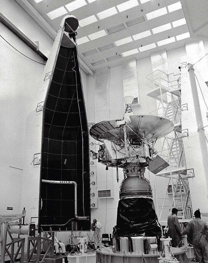 Pioneer 10 avant décollage 2 © NASA