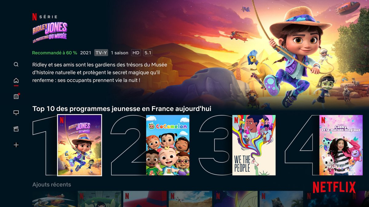 Netflix enfants fonctionnalités bis © Netflix