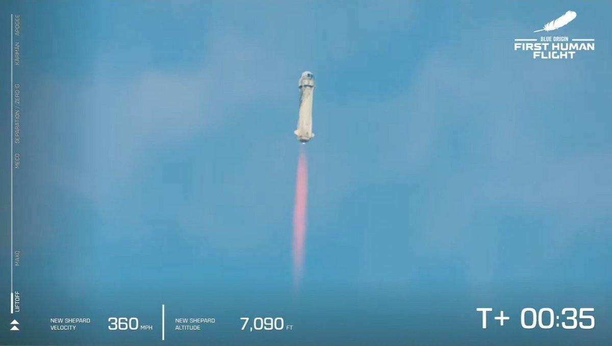 Blue Origin NS-16 vol habité 1 © Blue Origin