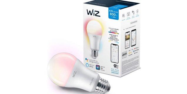 Test WiZ Colors E27 A60 : l'ampoule connectée qui se la joue Philips Hue, mais en Wi-Fi