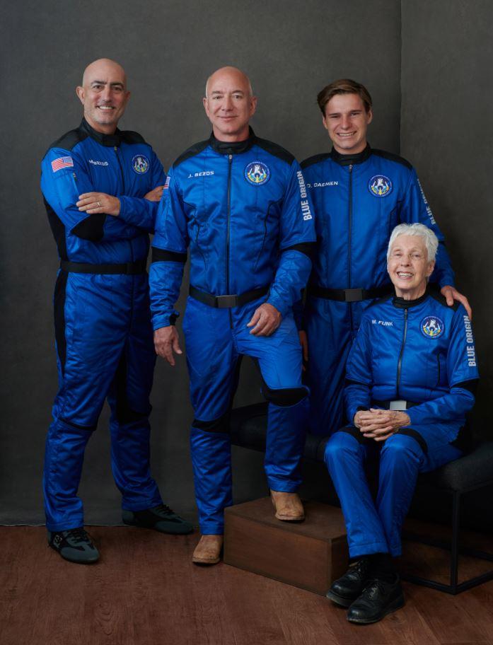 Blue Origin NS-16 vol habité équipage © Blue Origin