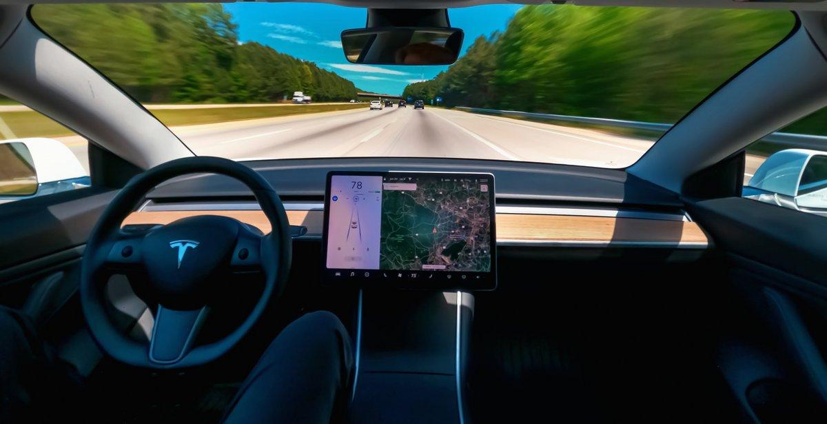 Tesla Autopilot © TierneyMJ / Shutterstock.com