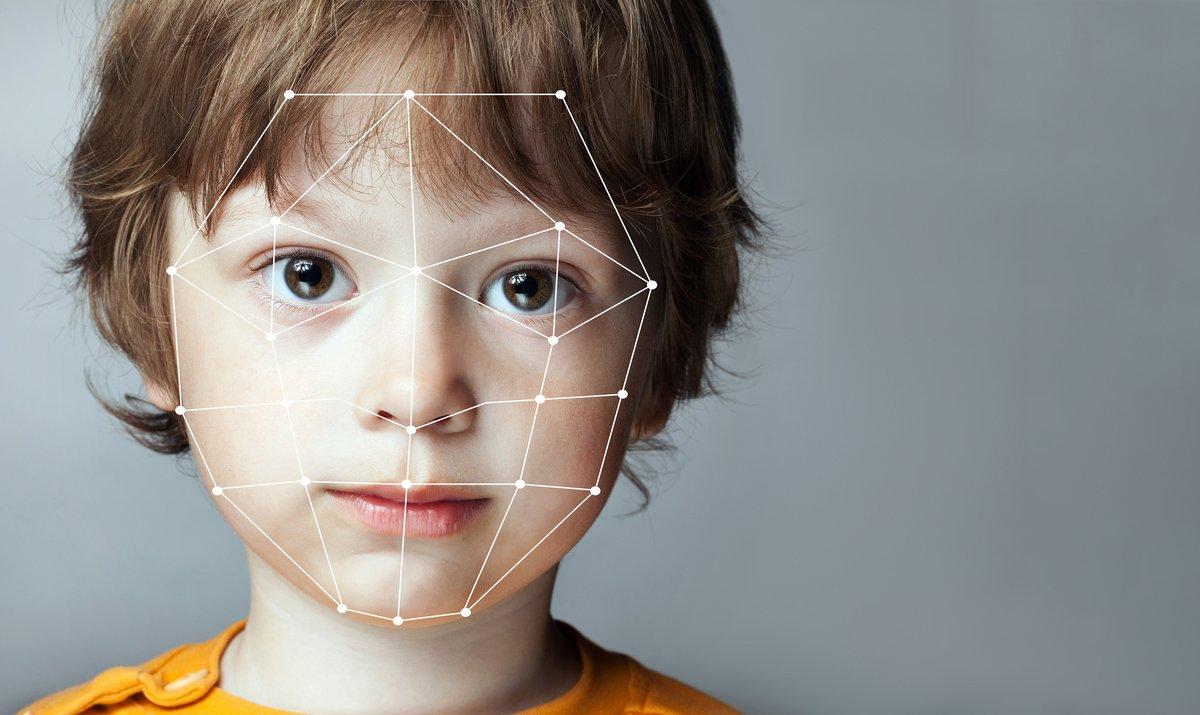 Enfant reconnaissance faciale © Shutterstock