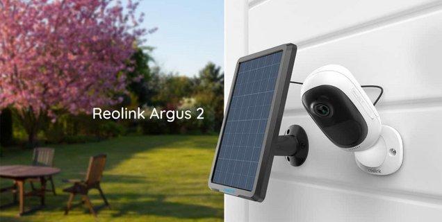 Reolink Argus 2 : une caméra de surveillance sans fil et solaire en promo pour les Soldes