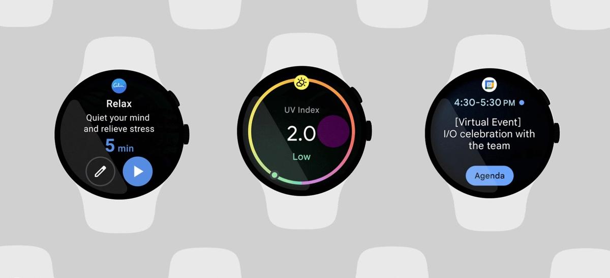 Wear OS 3.0 compatibilité © Google