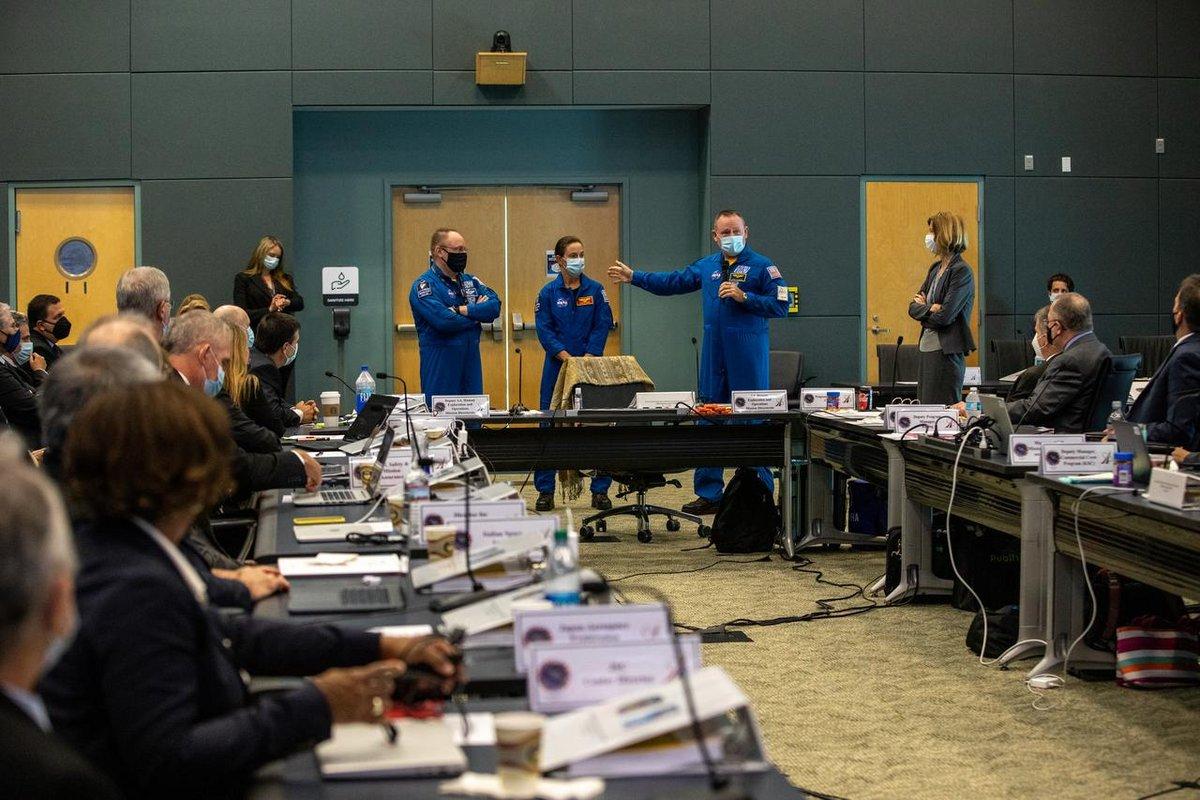 Starliner OFT-2 FRR Astronautes © NASA/Kim Shiflett