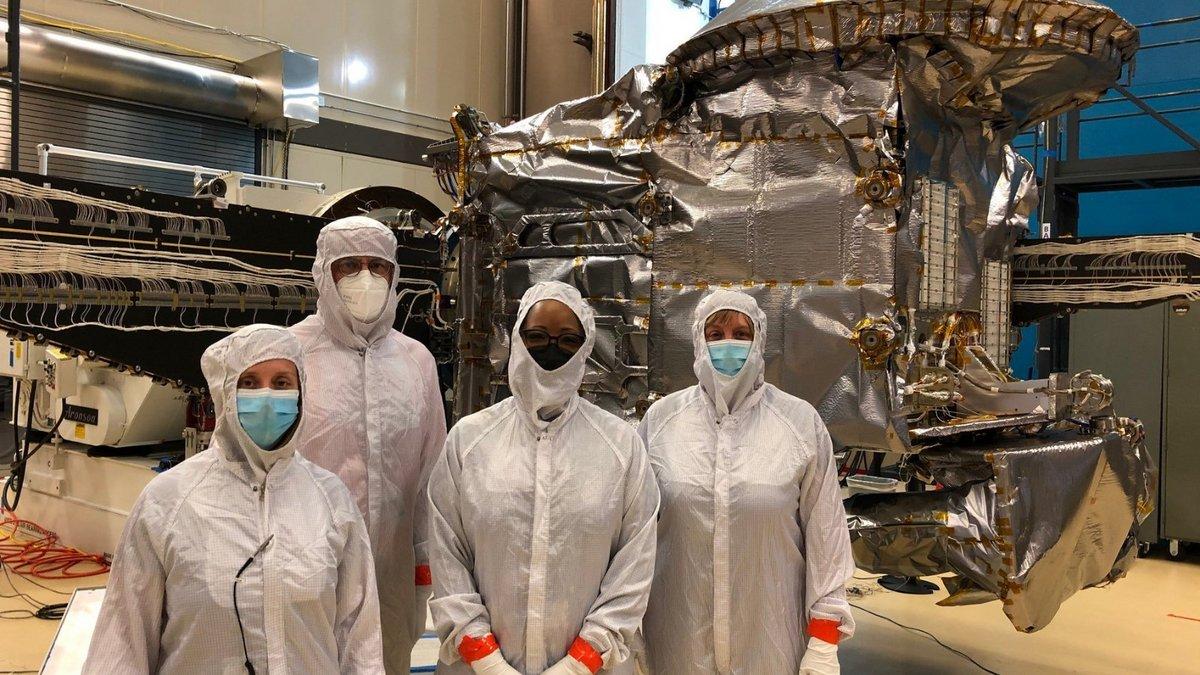 Lucy sonde préparation © NASA