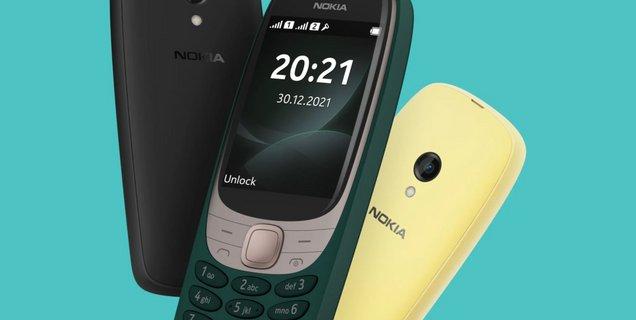 Avec le Nokia 6310, HMD réinvente le feature phone