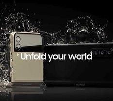 Étanches, les Samsung Galaxy Flip et Galaxy Fold fuitent pourtant en photo
