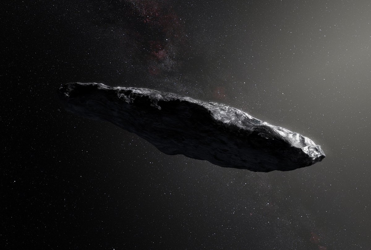 Oumuamua © Wikimédia / ESO/M. Kornmesser