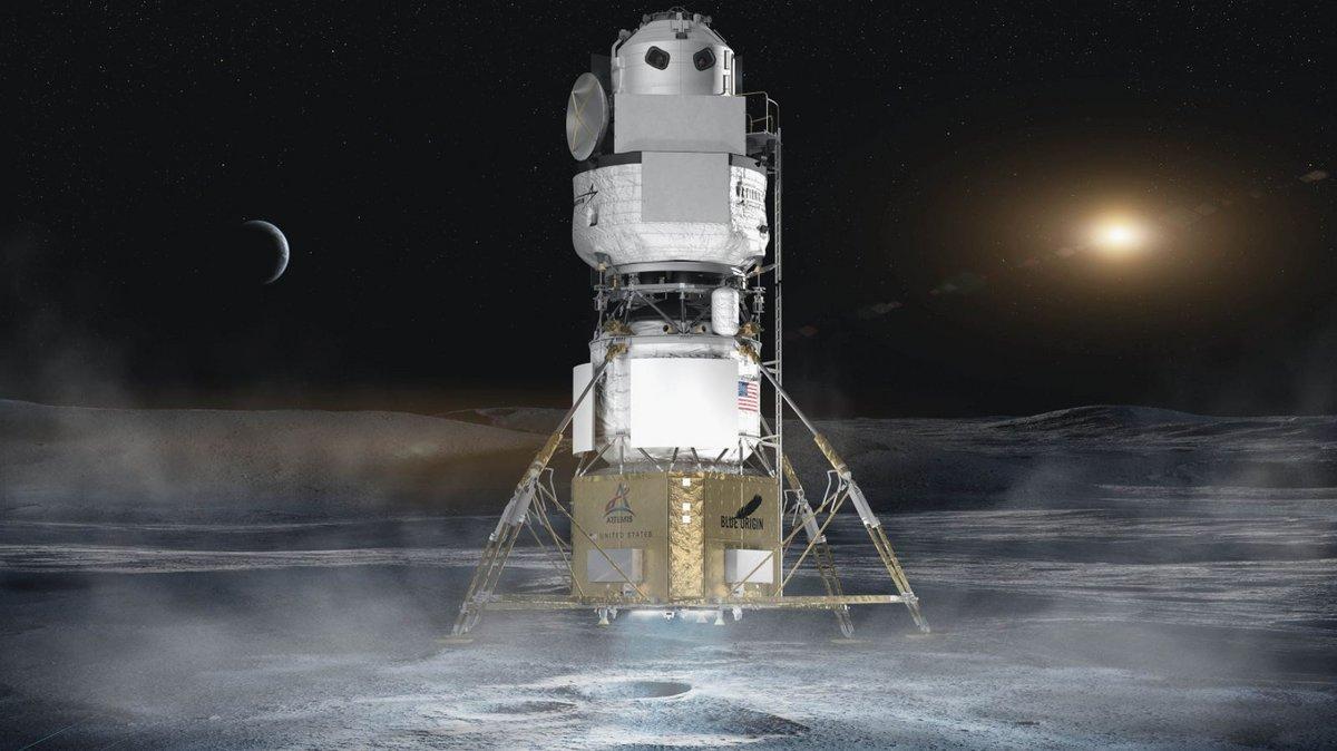 HLS National Team atterrisseur lunaire © NASA/National Team