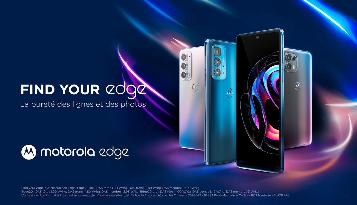 Motorola Edge 20 © Motorola