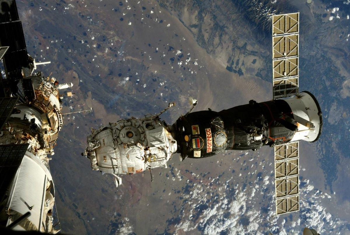 ISS ejection du module Pirs © ESA/Thomas Pesquet