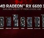 Le point sur les Radeon RX 6600 XT des différents constructeurs