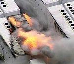 Un important incendie s'est déclaré dans un centre de stockage de batteries Tesla en Australie