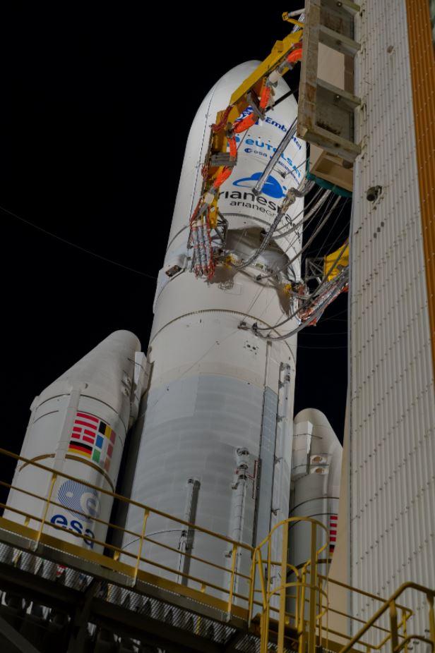 Ariane 5 VA241 Quantum préparation © ESA/S. Corvaja