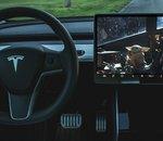 Tesla : la dernière mise à jour inclut Disney+ et un mode Car wash
