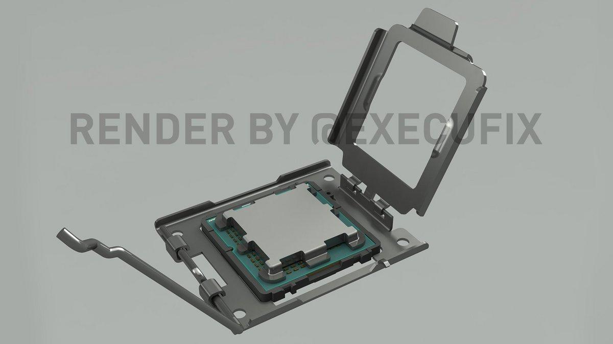 Rendu socket AMD AM5 © ExecutableFix
