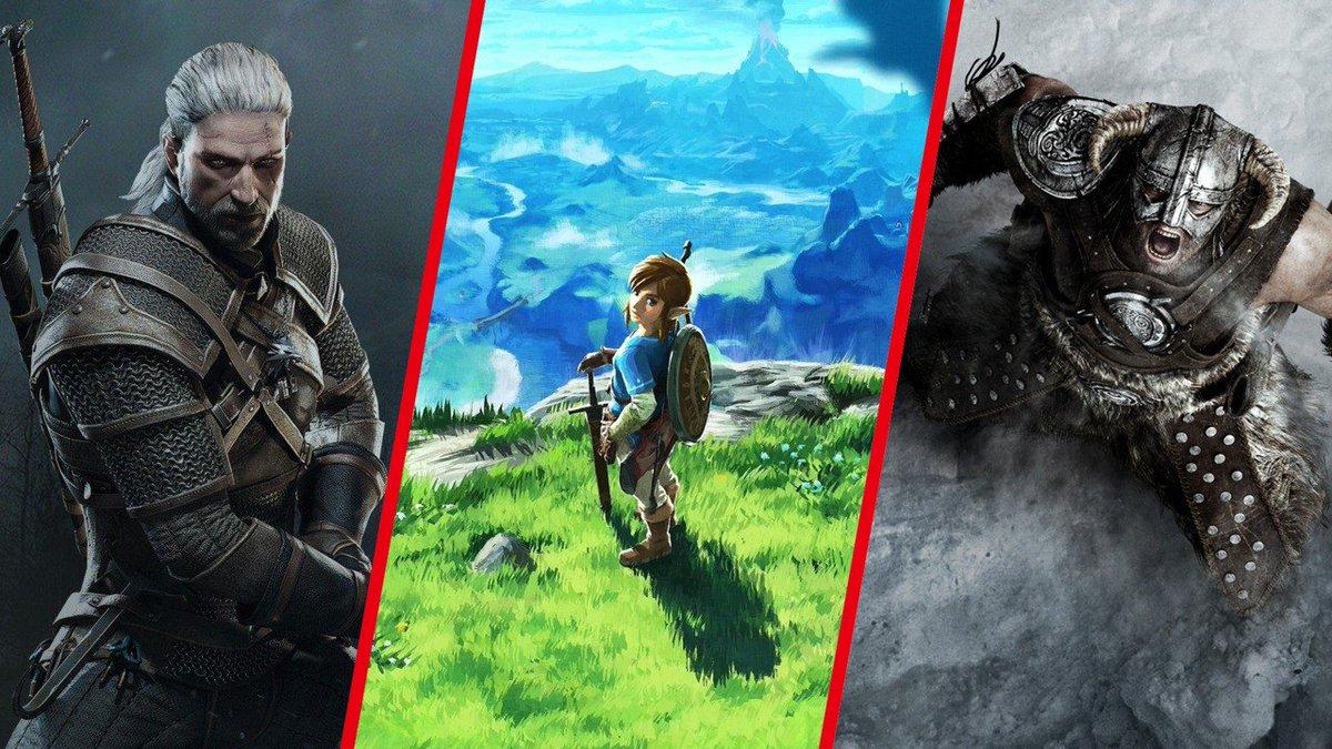 Action-RPG © CD Projekt RED / Nintendo / Bethesda