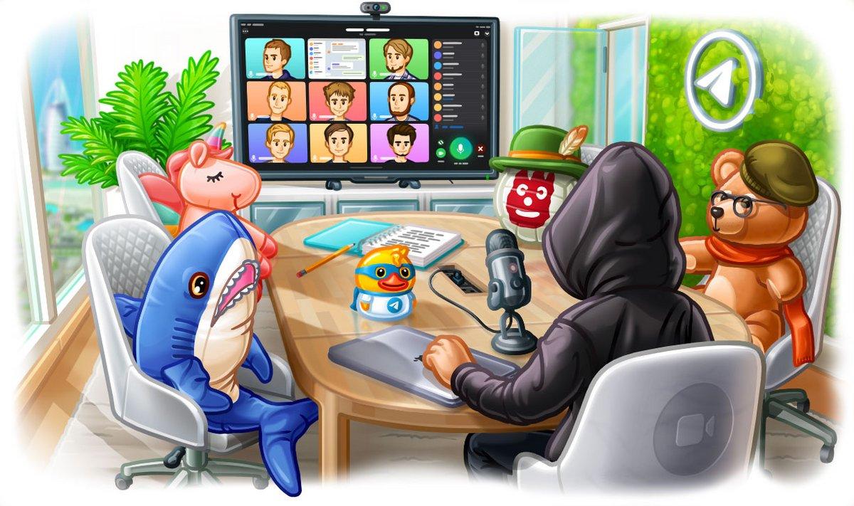 Telegram appels visio 2.0 © Telegram