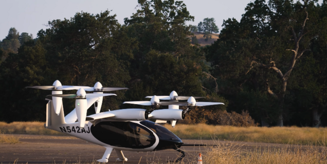 Le taxi volant électrique de Joby Aviation parcourt 240 kilomètres, un record