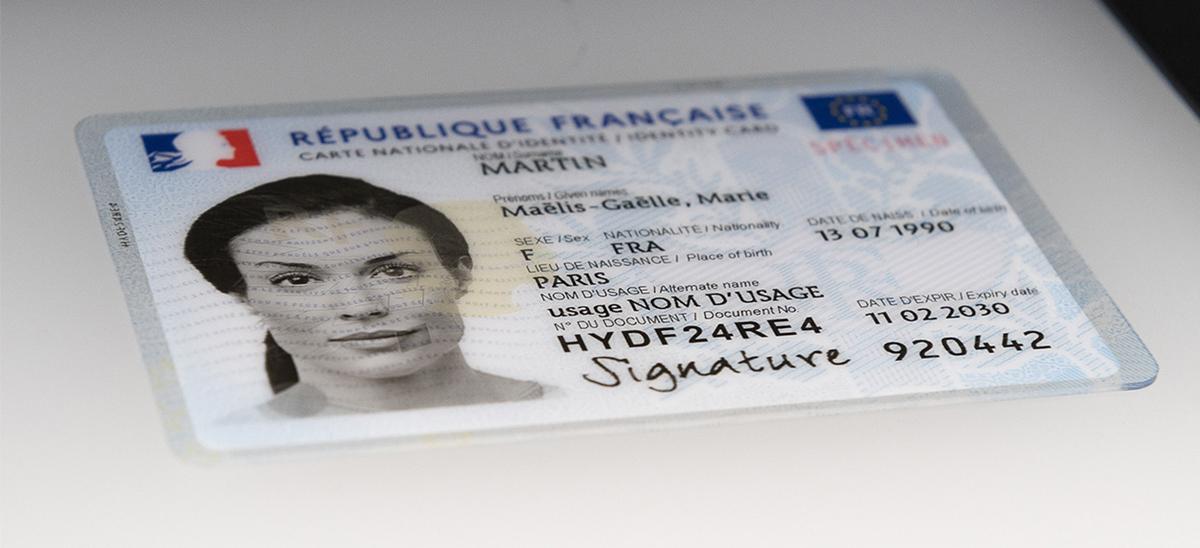 Carte nationale d'identité 2021 © © Ministère de l'Intérieur