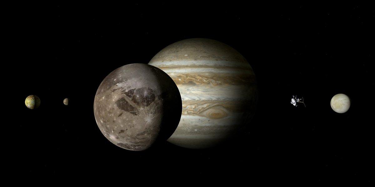 Ganymede devant Jupiter © Pixabay
