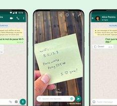 WhatsApp dévoile officiellement les photos et vidéos éphémères
