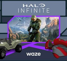 Et si Master Chief vous guidait en vacances ? Waze s'offre une mise à jour spéciale Halo Infinite