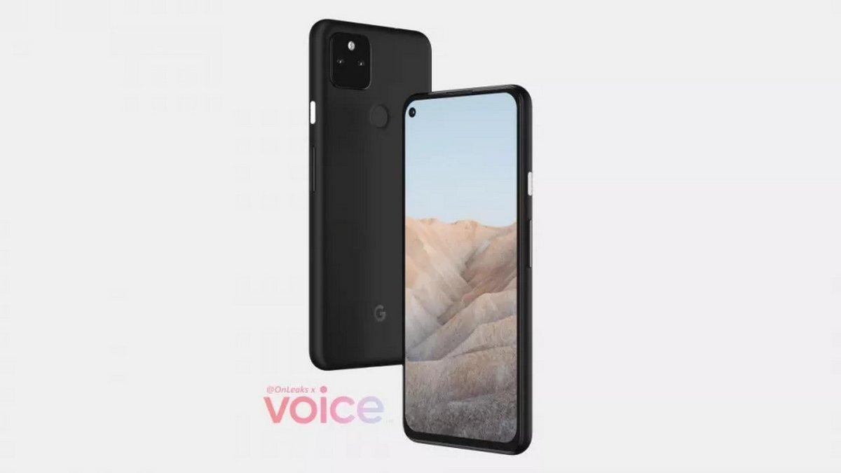 Google Pixel 5a © OnLeaks