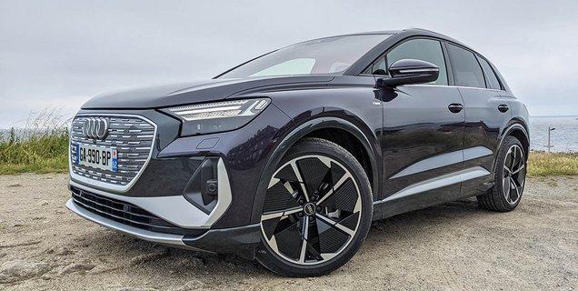 Essai Audi Q4 e-tron: un SUV prêt au voyage