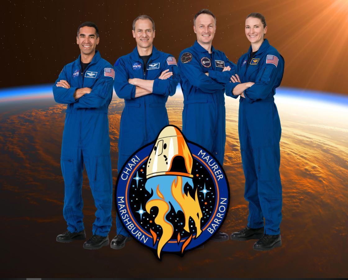 Crew-3 Crew Dragon équipage photo officielle © NASA