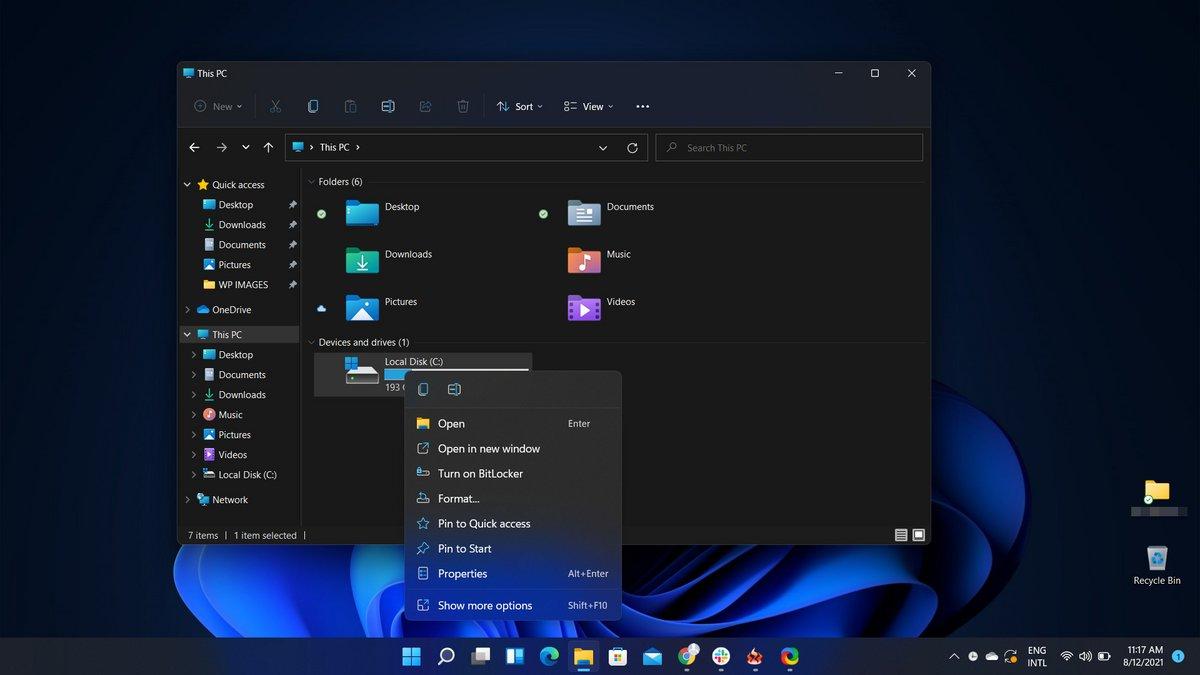 Windows 11 Mica © Microsoft