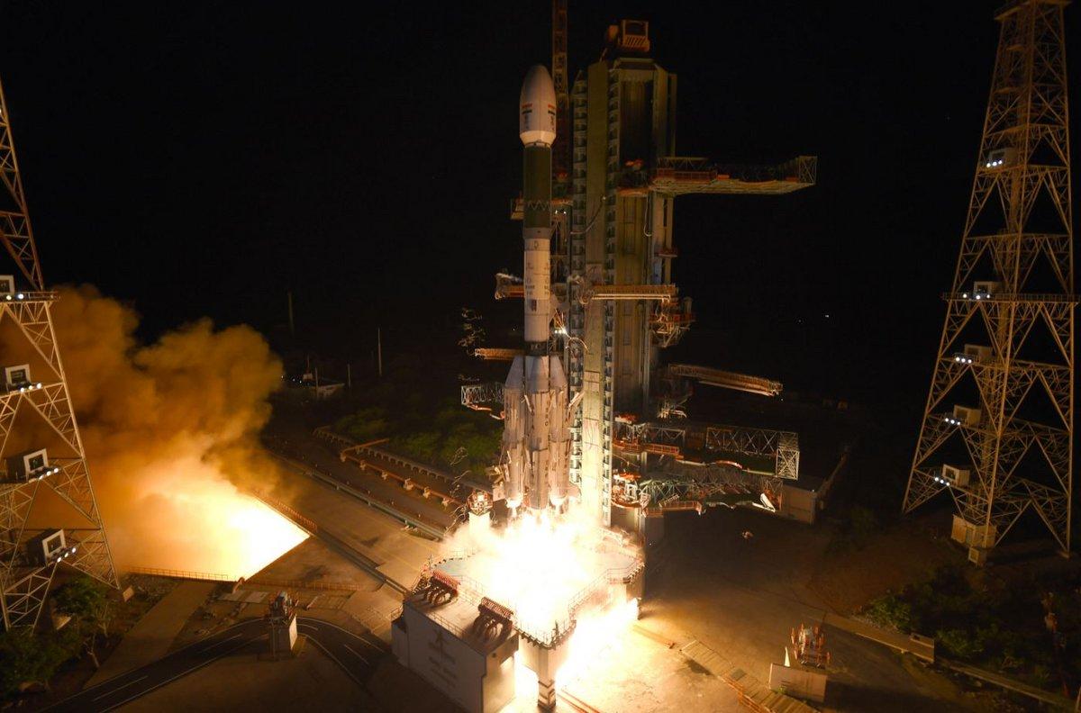 GSLV Mk2 EOS-03 © ISRO