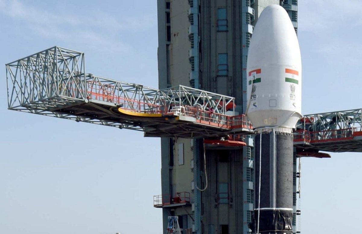 GSLV Mk2 EOS-03 3è étage © ISRO