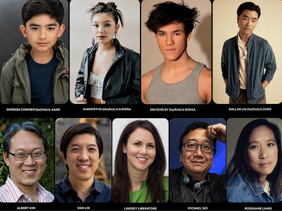 Avatar Cast © Netflix