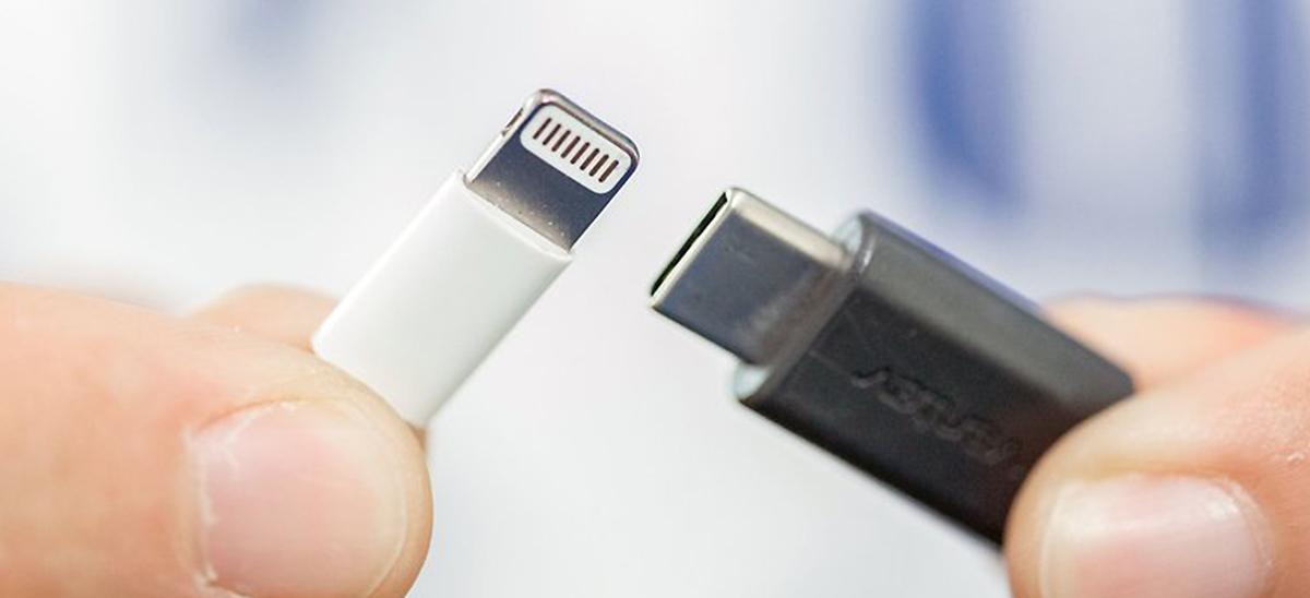 USB Type-C vs Lightning © Nextpit