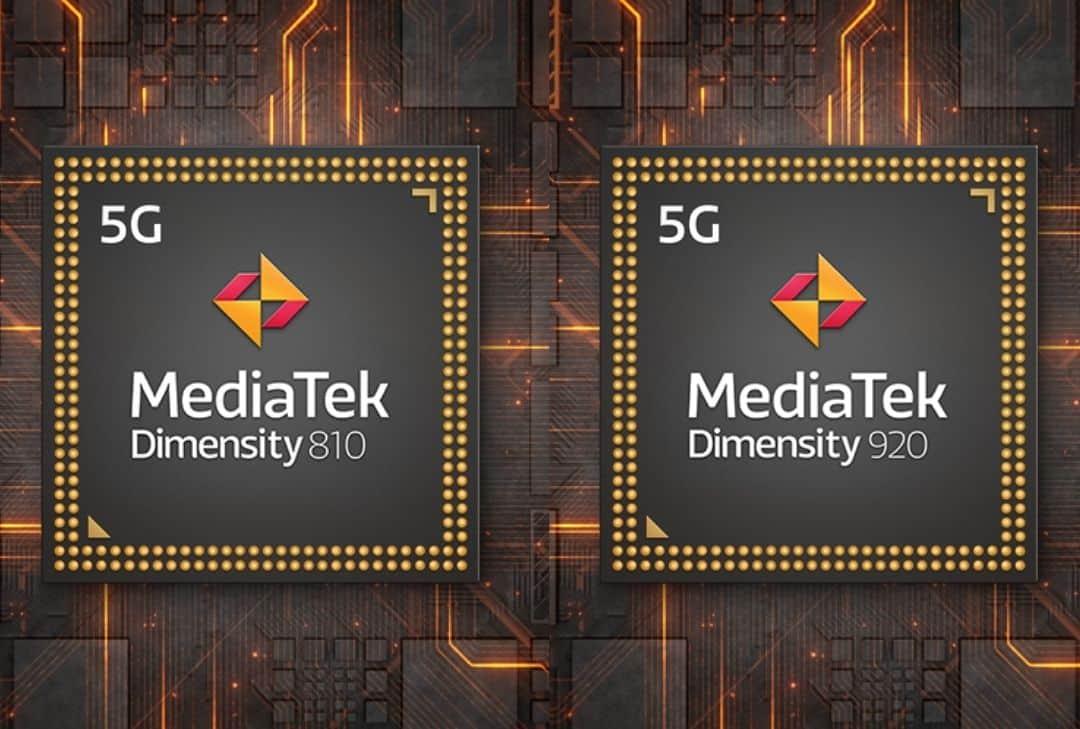 MediaTek Dimensity 810 et 920 © MediaTek