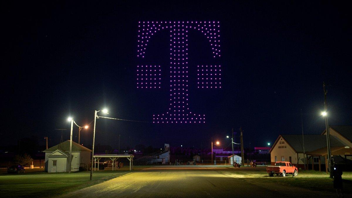 T-Mobile drones logo © T-Mobile